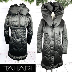 |•TAHARI•| Elissa Puffer Down Long Winter Coat